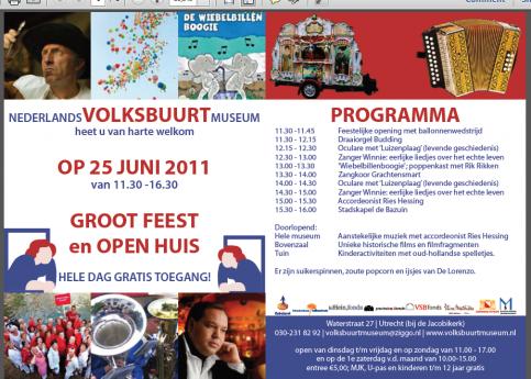 Heropening Museum Wijk C